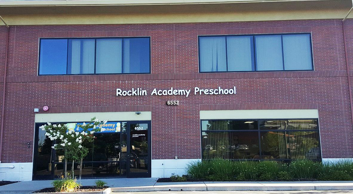 Rocklin Academy preschool building