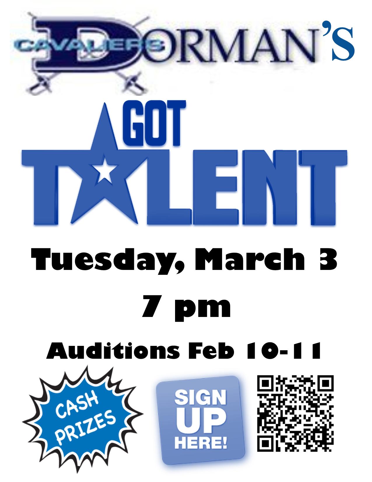 Talent ad