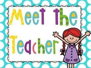 Meet the teacher on August 16 at 5:00.