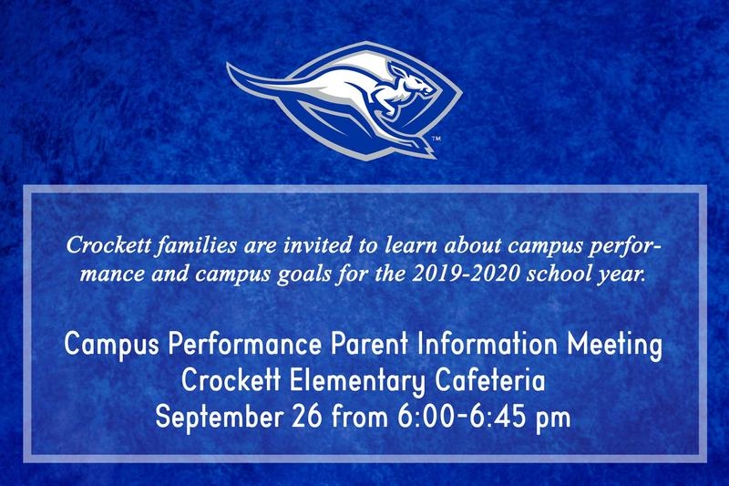 Campus Academic Performance Parent Information Meeting Featured Photo