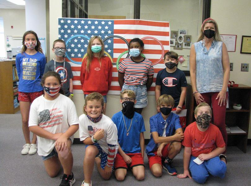 Showing our support of Team USA  2021