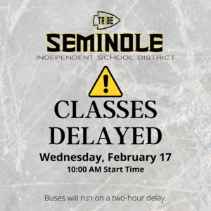 Delayed classes wed feb 17
