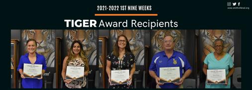 TIGER Award Recipients