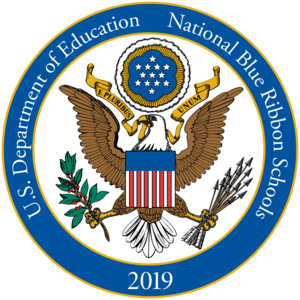 2019 National Blue Ribbon Badge