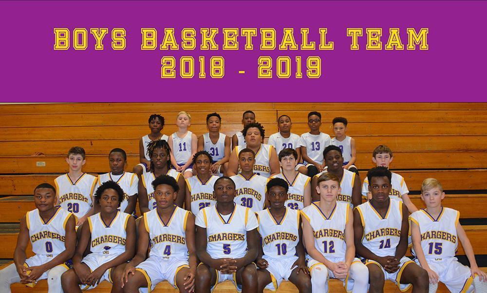 Boys Basketball Team 2018-2019