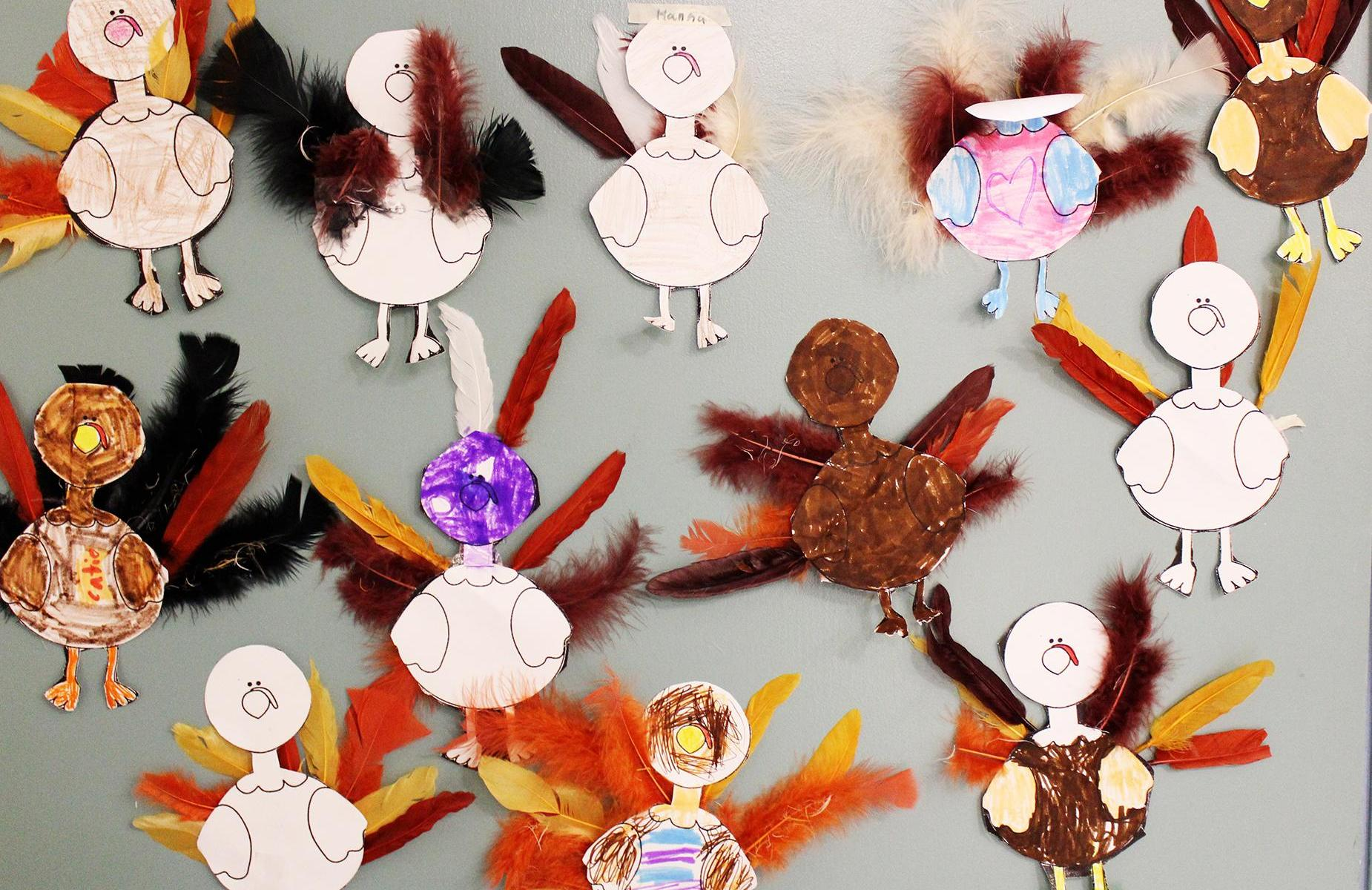 SAU29 Student Turkey Cutouts