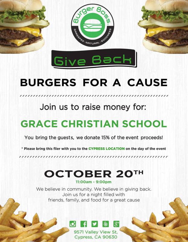 Restaurant Fundraiser at Burger Boss Featured Photo