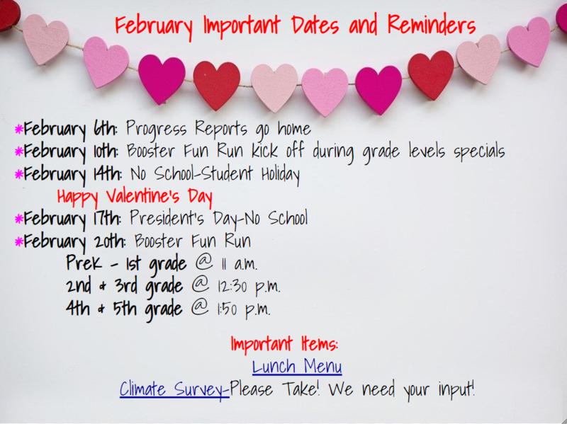 feb dates