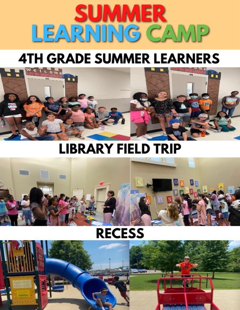 Summer Learning Camp