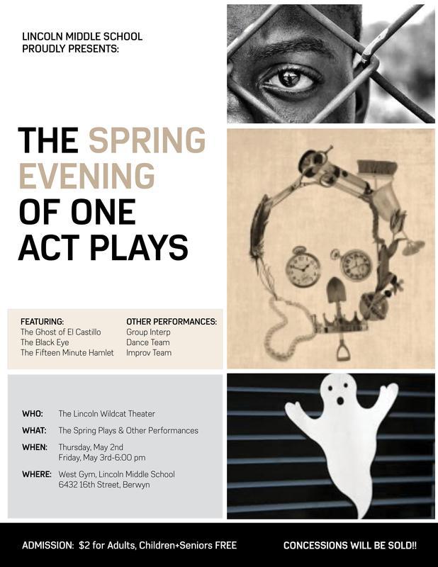 Spring Play / Obra de Teatro de Primavera Thumbnail Image