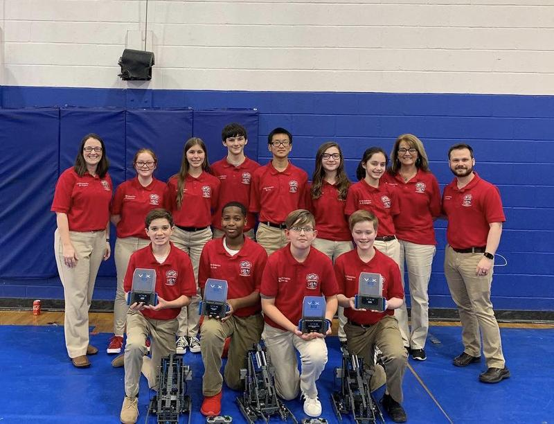 PCMS Robotics team does it again! Featured Photo