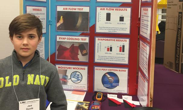 2nd place state science fair