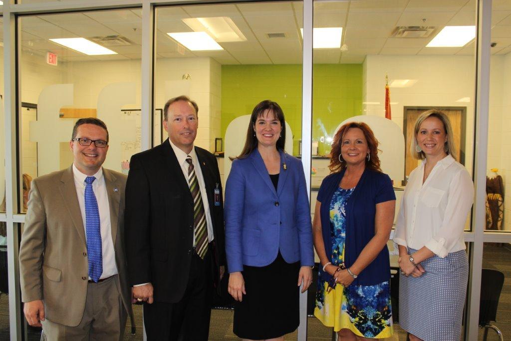 Commissioner McQueen Visits Morrison School