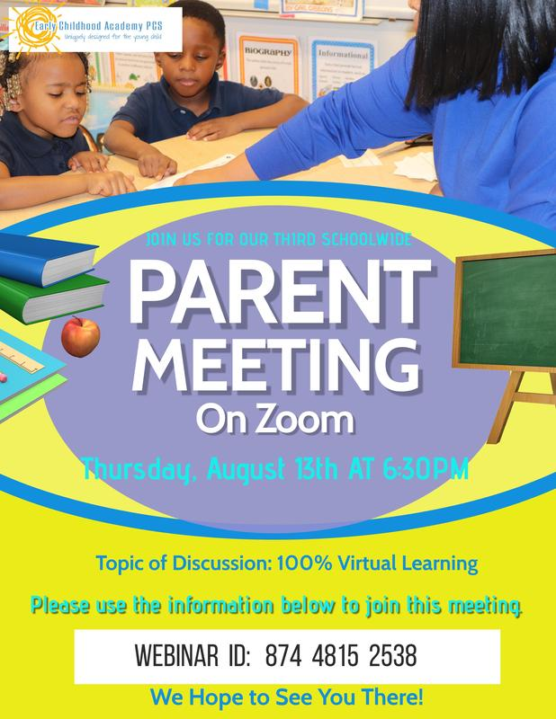 Early Childhood Academy's Parent Meeting #3 Featured Photo