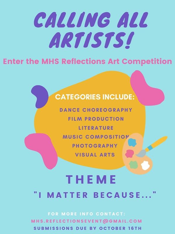 PTA Reflections Art Contest Featured Photo