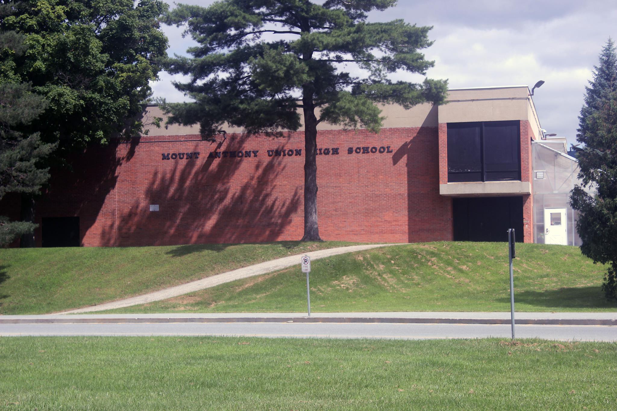 brick school building