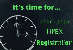 HPEX registration