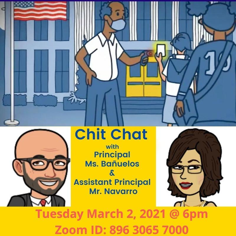 Chit Chat with Principal and Assistant Principal Thumbnail Image