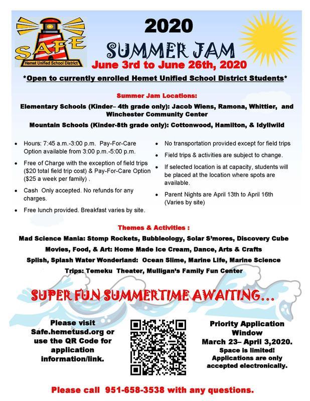 Summerjam 2021 Programm