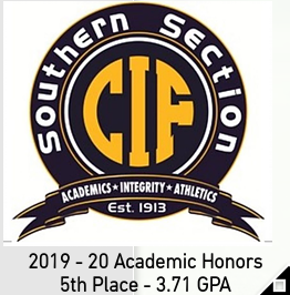 CIF-SS Academic Honors