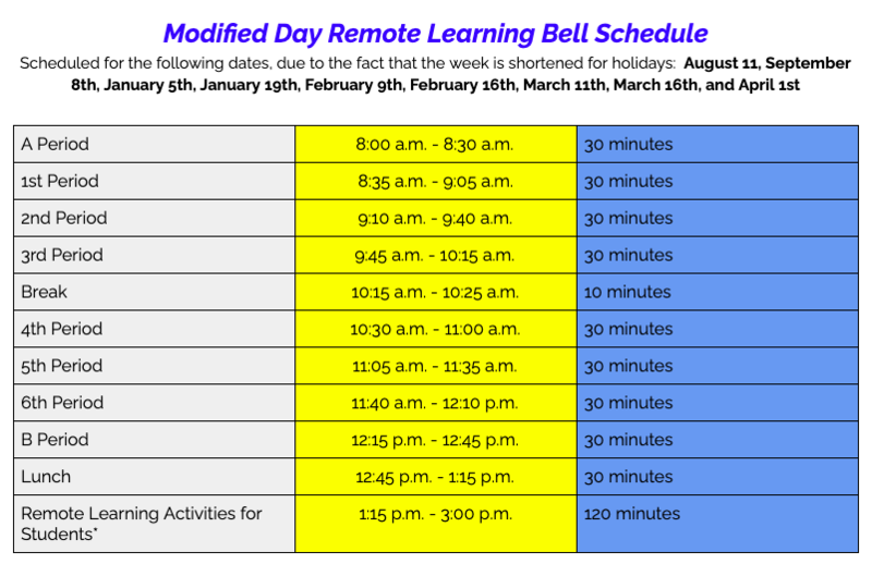 No School on Monday (1/18) and Modified Schedule for Tuesday (1/19) Featured Photo