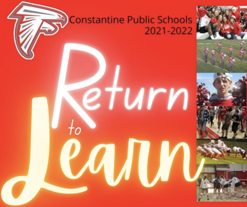 Return to Learn Parents and Guardians Letter Cover Page