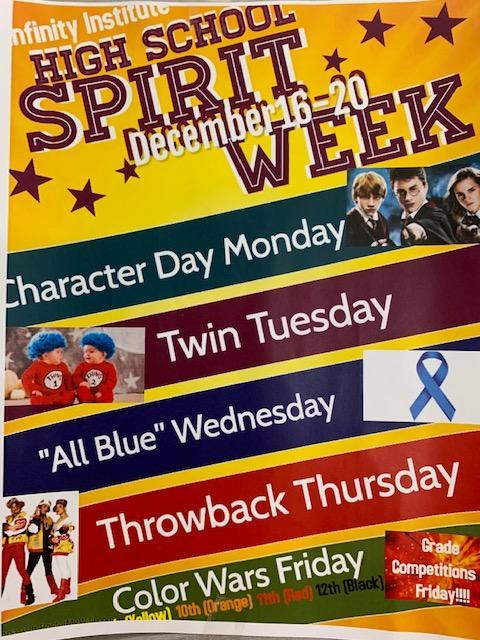 National Blue Ribbon Spirit Week Featured Photo