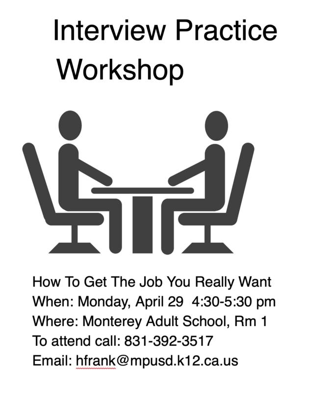 Interview Skills Workshop Featured Photo