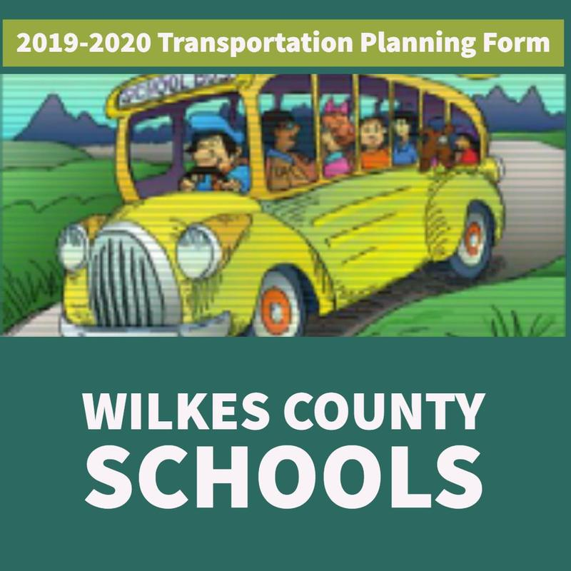 Wilkes County Schools 2019-2020 Transportation Planning Form Thumbnail Image
