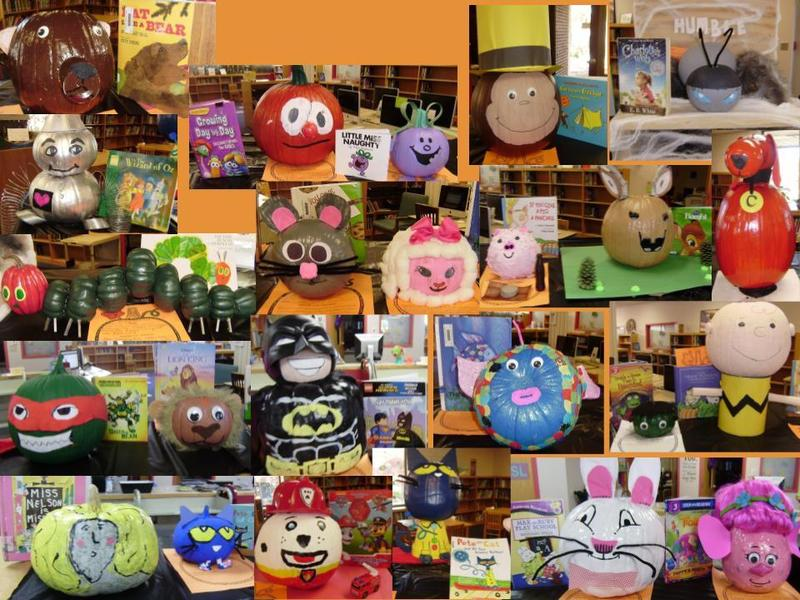 Book Character Pumpkin Contest Featured Photo