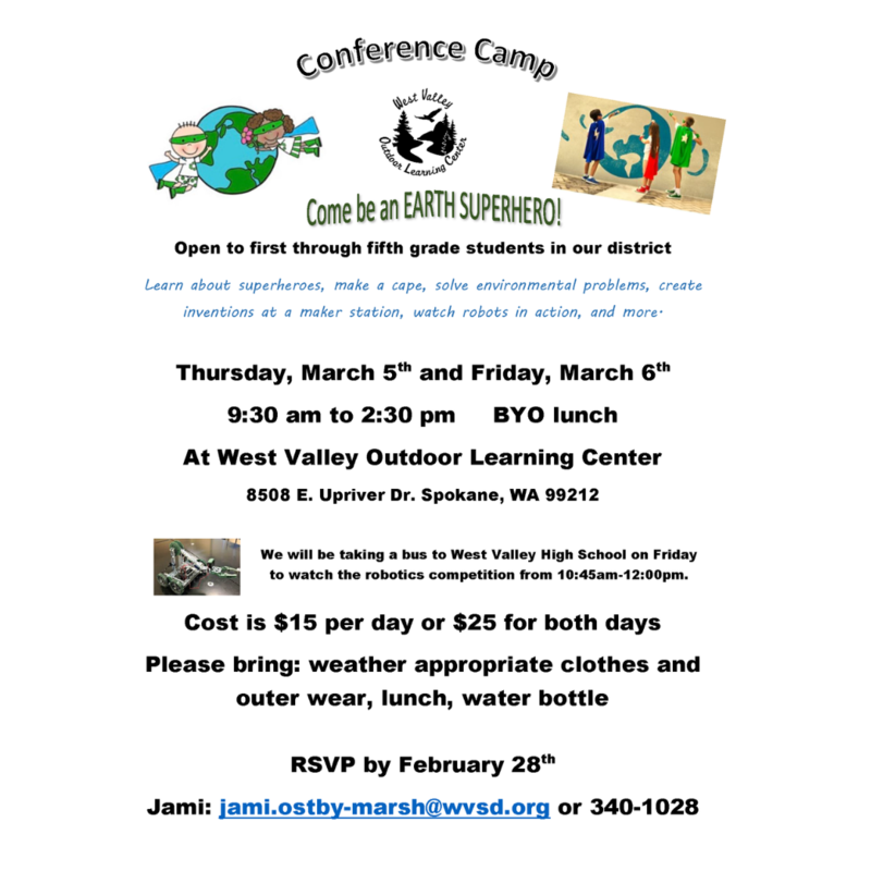 OLC Camp flyer