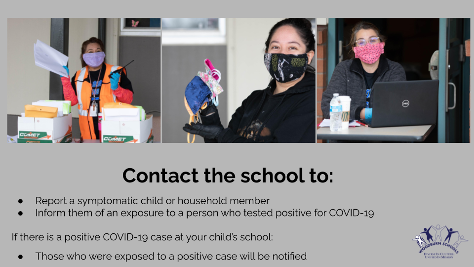 HEALTH & SAFETY INFORMATION FOR FAMILIES