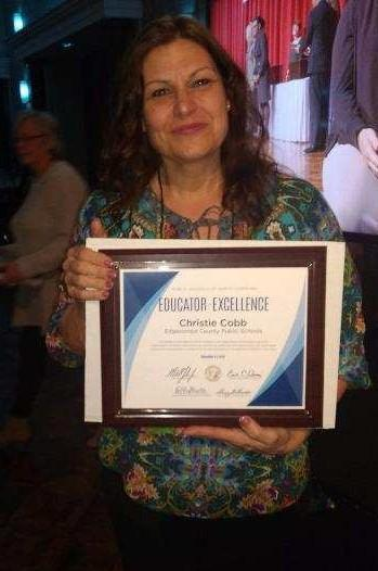Cobb selected as EC Teacher of Excellence Thumbnail Image