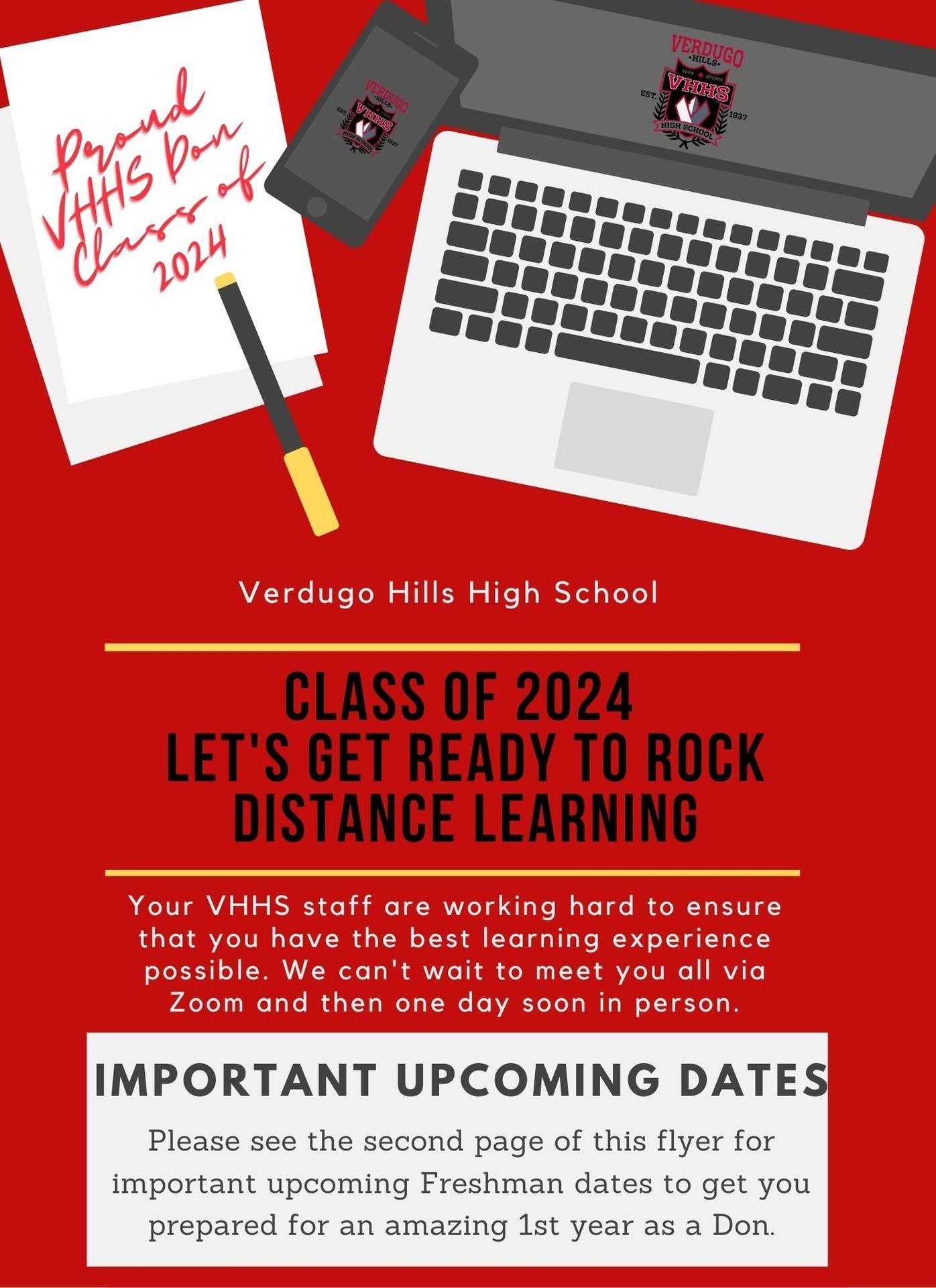 9th Grade Important Dates