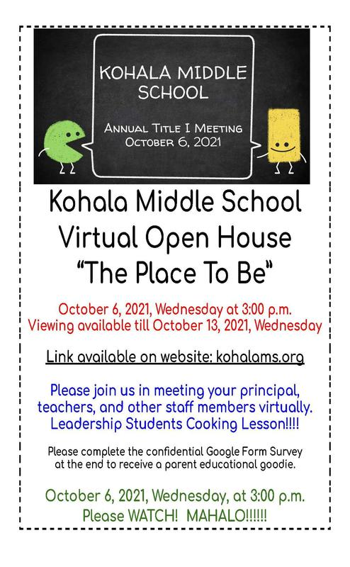 October Virtual Open House Featured Photo