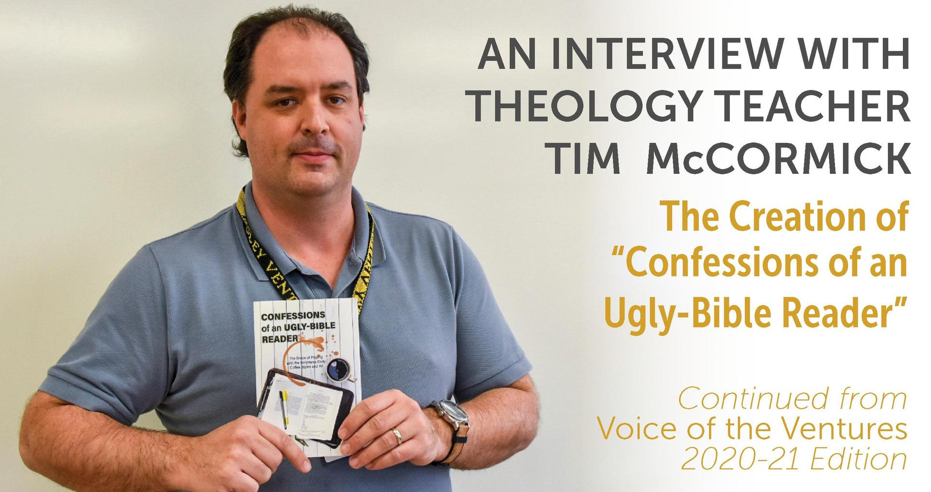 An Interview with Tim McCormick