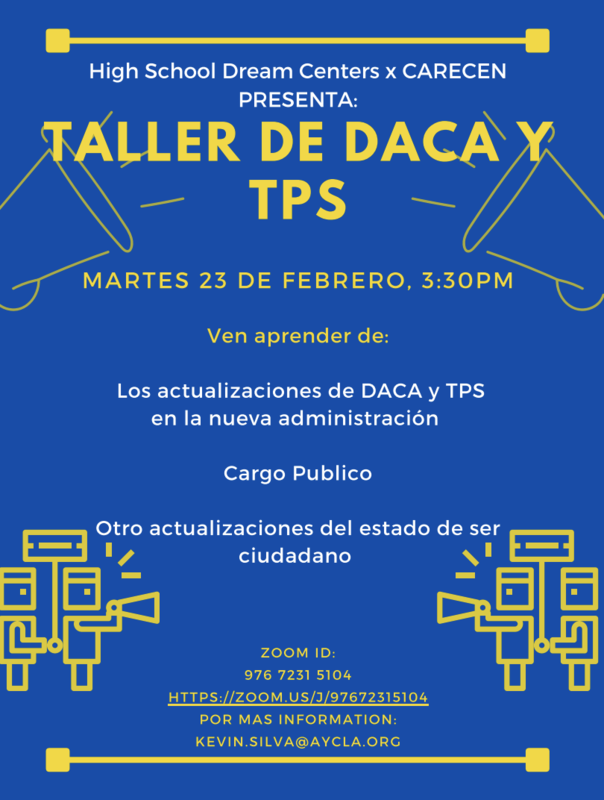 DACA , TPS Taller Featured Photo