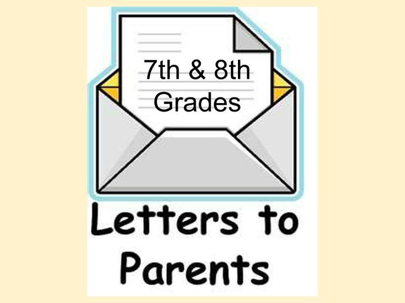 Middle School 7th & 8th grade letter to families Featured Photo
