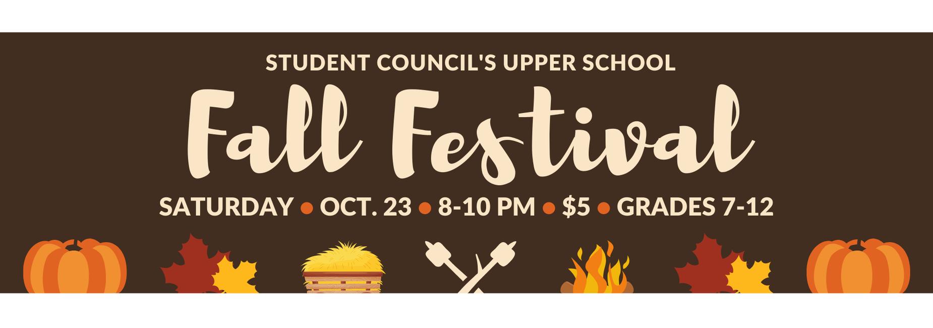 Upper School Fall Festival