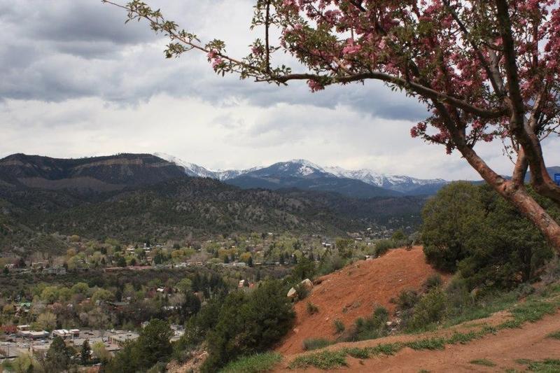 fall view of Durango, Colorado