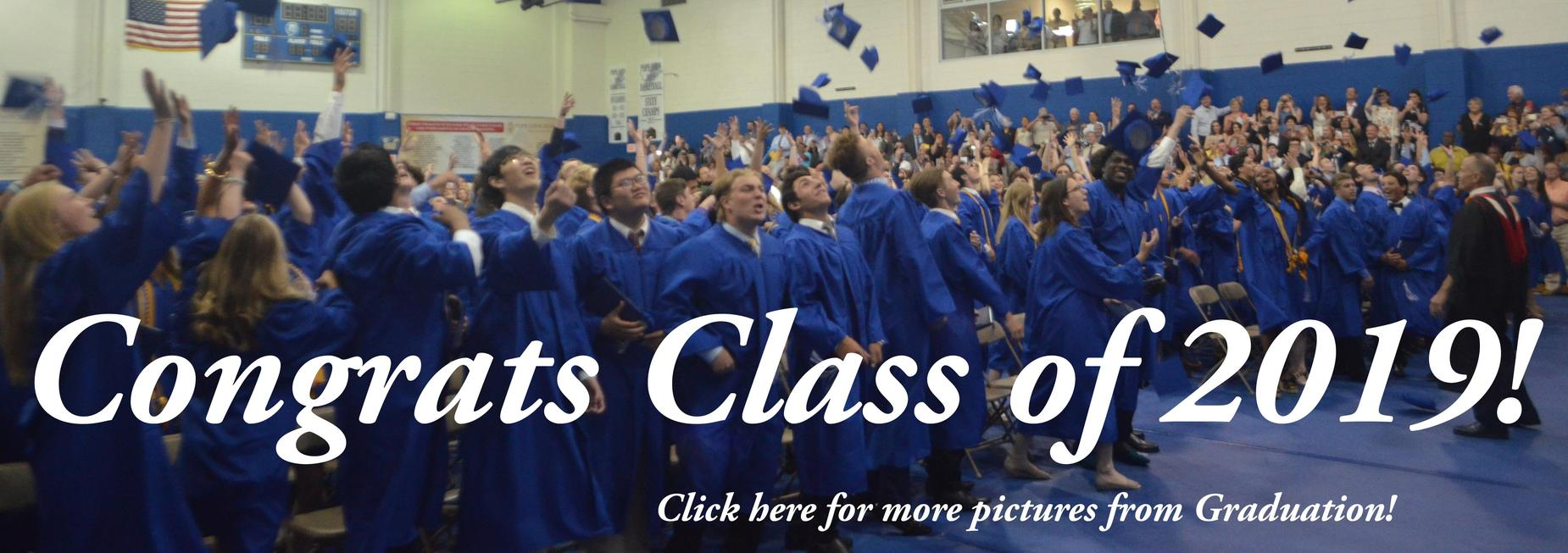 Class of 2019 Congrats