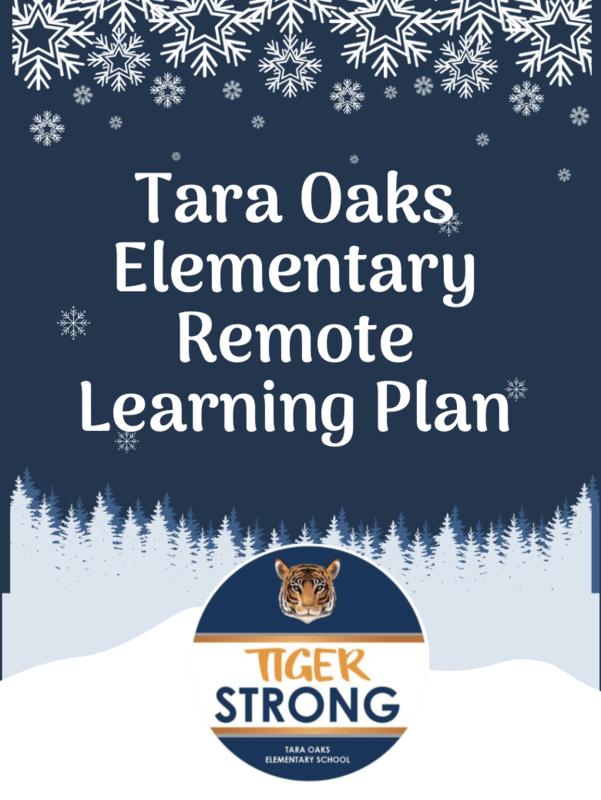 Tara Oaks Remote Learning Plan Featured Photo