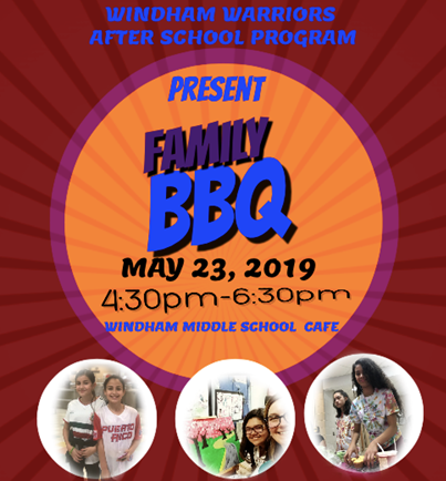 Windham Warriors After School Program Presents: Family BBQ Thumbnail Image