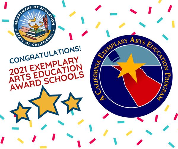 Benton awarded California Exemplary Arts Education Award! Featured Photo