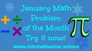 January Problem of the Month