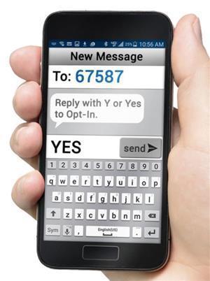SchoolMessenger SMS text