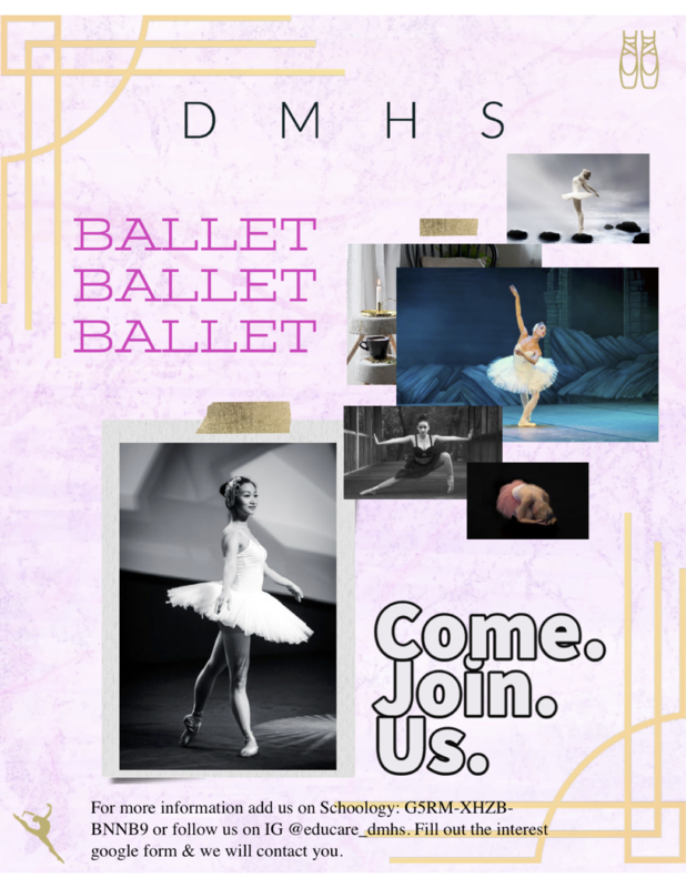 DMHS Ballet Featured Photo