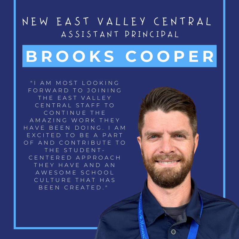 New EVC Assistant Principal Announced