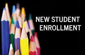 NEW STUDENT ONLINE ENROLLMENT Thumbnail Image