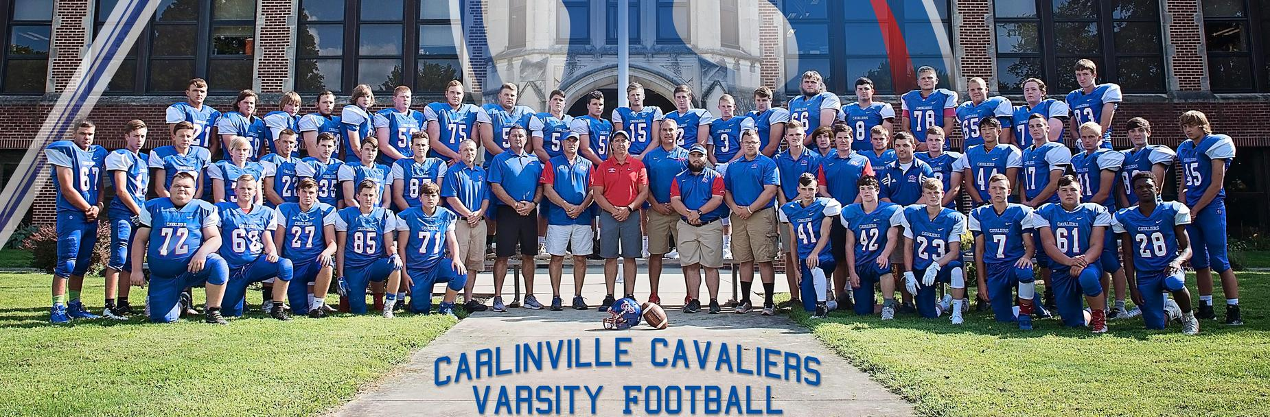 2019-2020 Carlinville High School Varsity Football Team